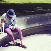 Styled Guys And Their Dogs