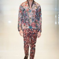 Floral Surprise at Gucci Menswear spring 2014