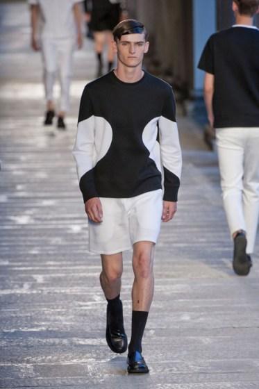 NEIL BARRETT menswear spring 2014 fashiondailymag sel  7