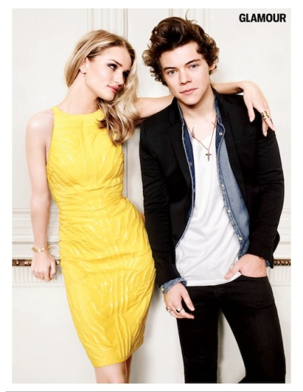 ROSIE HUNTINGTON WHITELY  ONE DIRECTION
