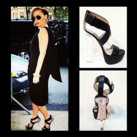 Lady Gaga in Ruthie Davis Shoes