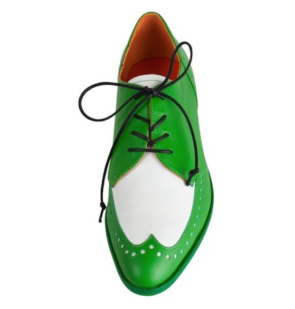 Modern Vice Oxford in Green back to school