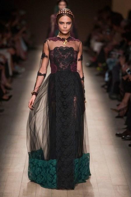 VALENTINO Spring 2014 fashiondailymag sel 67