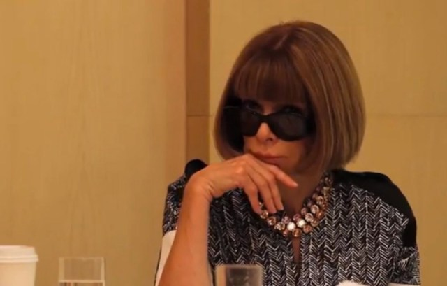 ANNA WINTOUR VOGUE cfda on FashionDailyMag