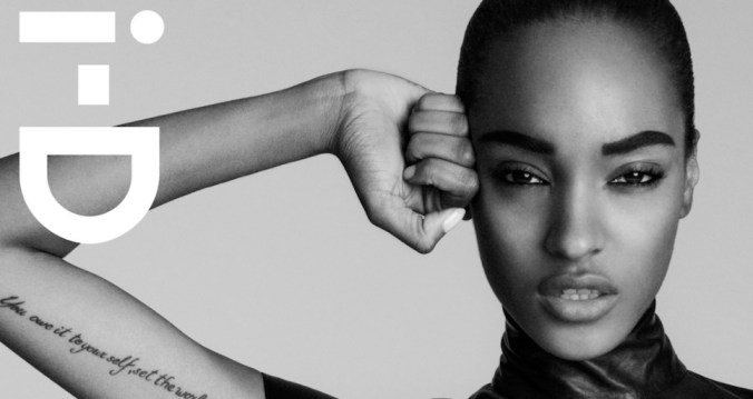 I-D mag launch jourdan dunn FashionDailyMag feature