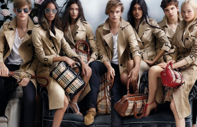 Burberry Spring_Summer 2014 Campaign FashionDailyMag