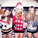 HOLIDAY dressing: you better not pout