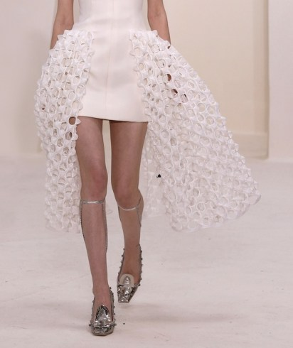 DIOR Couture SPRING 2014 FashionDailyMag look 14 details