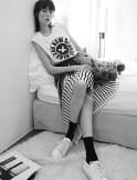 EDIE CAMPBELL by karim sadli sandro campaign fashionDailyMag sel 5