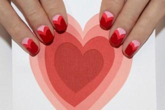 2014 Valentine's Day Nail Art copy