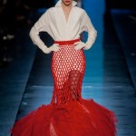 sasha luss gaultier couture spring 2014 FashionDailyMag