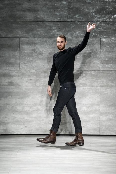designer Mathieu Mirano fall 2014 FashionDailyMag