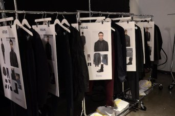 Robert Geller(Backstage) fall 2014 FashionDailyMag sel 03