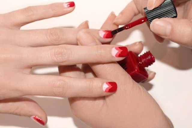 Sweetheart Nail Art Step 5 fashiondailymag