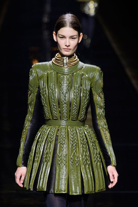 BALMAIN Fall 2014 PFW fashiondailymag sel 26b