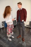 BRIGITTE segura with guerrino santulliana Bosideng fall 2014 FashionDailyMag sel 1