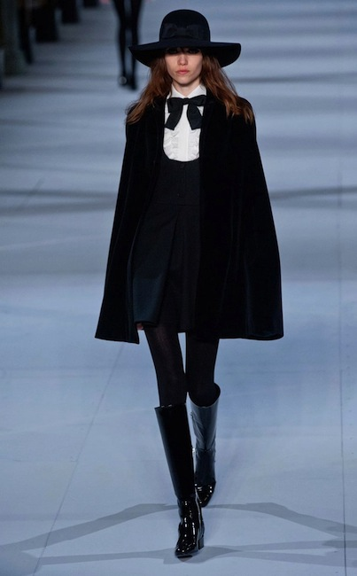 Saint Laurent fall 2014 FashionDailyMag sel 19
