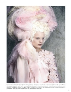 hanne gaby odiele LUIGI LANGO editorial Vogue Germany FashionDailyMag sel 6