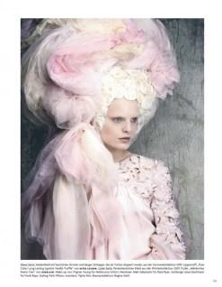 hanne gaby odiele LUIGI LANGO editorial Vogue Germany FashionDailyMag sel 6
