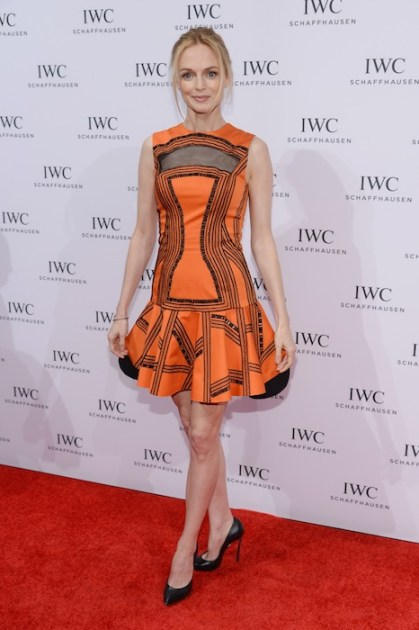"heather graham IWC Schaffhausen And Tribeca Film Festival Host ""For the Love of Cinema"" Private Dinner"