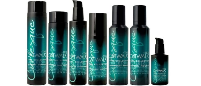 CATWALK tigi curls rock collection FashionDailyMag