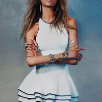 JOURDAN DUNN gorgeous in Free People