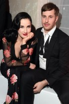 dita von teese at moncler am far after party cannes