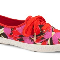 KEDS x Kate Spade flowered for weekend fun