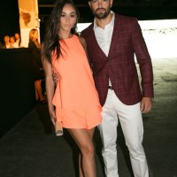 JESSE METCALFE front row at Mens collections London