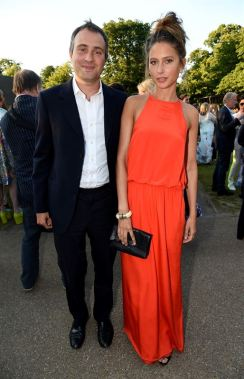 Ben Goldsmith and Jemima Jones serpetine summer party FashionDailyMag