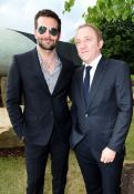 Bradley Cooper and Francois Henri Pinault at the Serpentine Summer Party FashionDailyMag