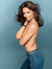 KATIE HOLMES BY TOM MUNRO glamour august FashionDailyMag