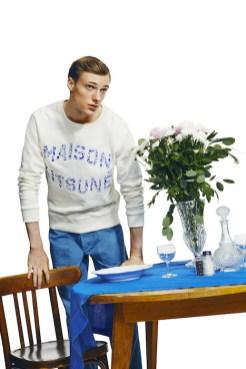 MAISON KITSUNE menswear spring 2015 FashionDailyMag sel 16