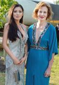 Rebecca Wang and Julia Peyton-Jones Serpentine Summer Party FashionDailyMag