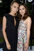 cara delevingne and Keira Knightley Serpentine Summer party FashionDailyMag