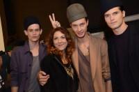 Brigitte Segura, jakub pastor, arthur daniyarov,dima dionsov Robert Geller Spring 2015 Fashion Daily Mag sel 39