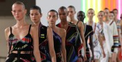 Preen by Thornton Bregazzi SS15bb (Christopher James, British Fashion Council) 2 fashiondailymag