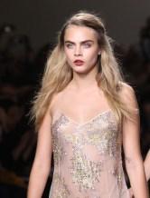 cara delevingne Topshop Unique SS15 (Christopher James, British Fashion Council) 3