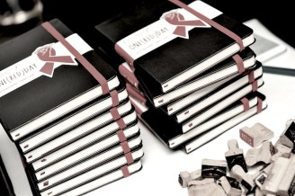 The Launch of the (MOLESKIN)RED #OneREDDay Collection at the Park Hyatt in NYC fashiondailymag