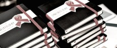 RED x moleskine special edition book FashionDailyMag mens holiday guide 2014