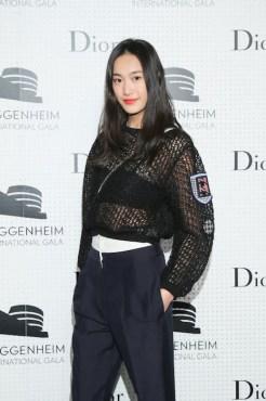 shu pei Dior at Guggenheim gala FashionDailyMag sel 3