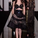 ATELIER VERSACE couture ss15 FashionDailyMag sel yumi lambert