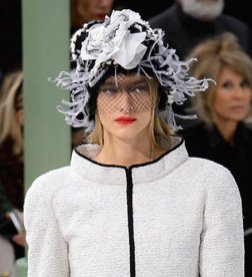 CHANEL HAUTE COUTURE ss15 FashionDailyMag sel 26 hat