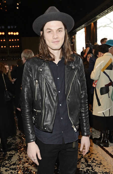 james bay Burberry Prorsum AW15: Front Row & Show - London Collections: Men