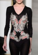 LA PERLA COUTURE SS15 fashiondailymag sel 9 feathers