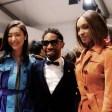 Liu Wen, Tinie Tempah and Jourdan Dunn