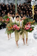 flower boys CHANEL HAUTE COUTURE ss15 FashionDailyMag