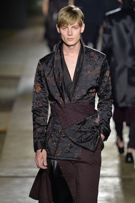 janis ancens DRIES VAN NOTEN fall 2015 FashionDailyMag sel 8