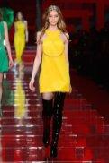 VERSACE fall 2015 MFW FashionDailyMag sel ondria hardin