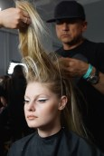 backstage at the blonds angus smythe fashiondailymag sel 33
